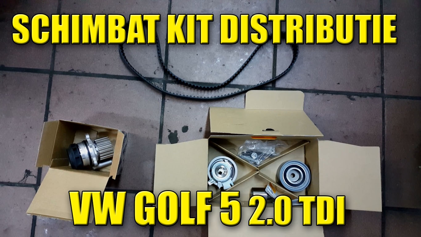 schimbat kit distributie vw golf 5 jetta 2 0 tdi video tutorial. Black Bedroom Furniture Sets. Home Design Ideas