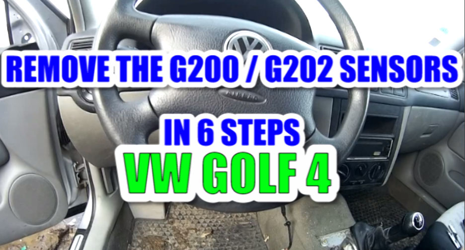 How to remove / change the yaw rate sensor G202 and the