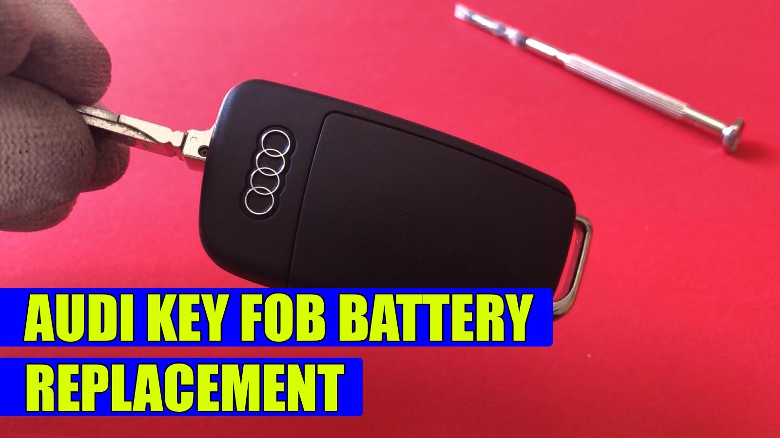 Tutoriale Din Service Invata Sa Ti Repari Intretii Singur Masina Mazda 5 Engine Diagram How To Replace The Battery On Audi Key Fob A3 A4 A5 A6 A7 A8 Q5 Q3 Q7