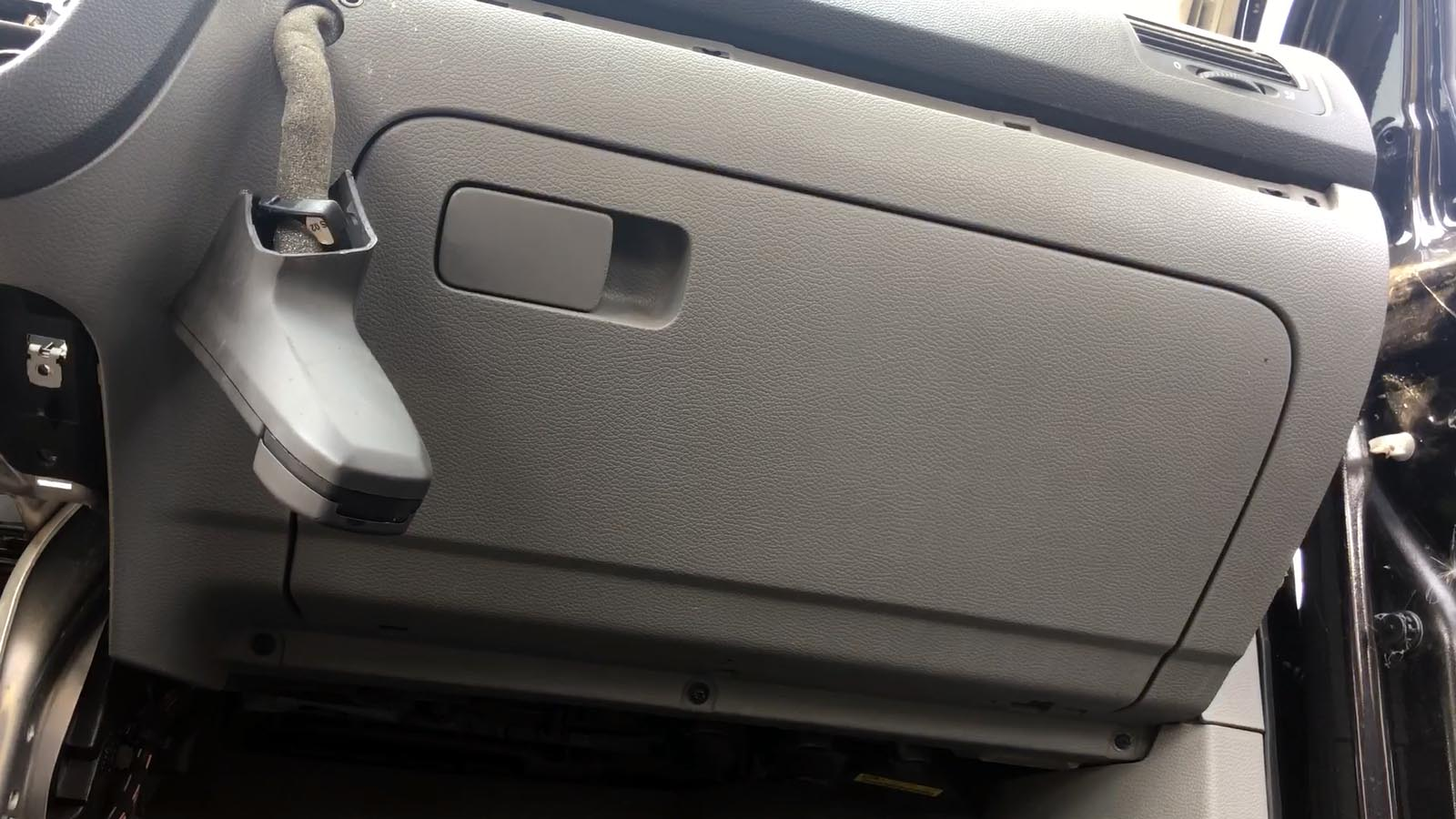 How To Remove    Replace Glove Box On Vw Golf Mk5  Jetta