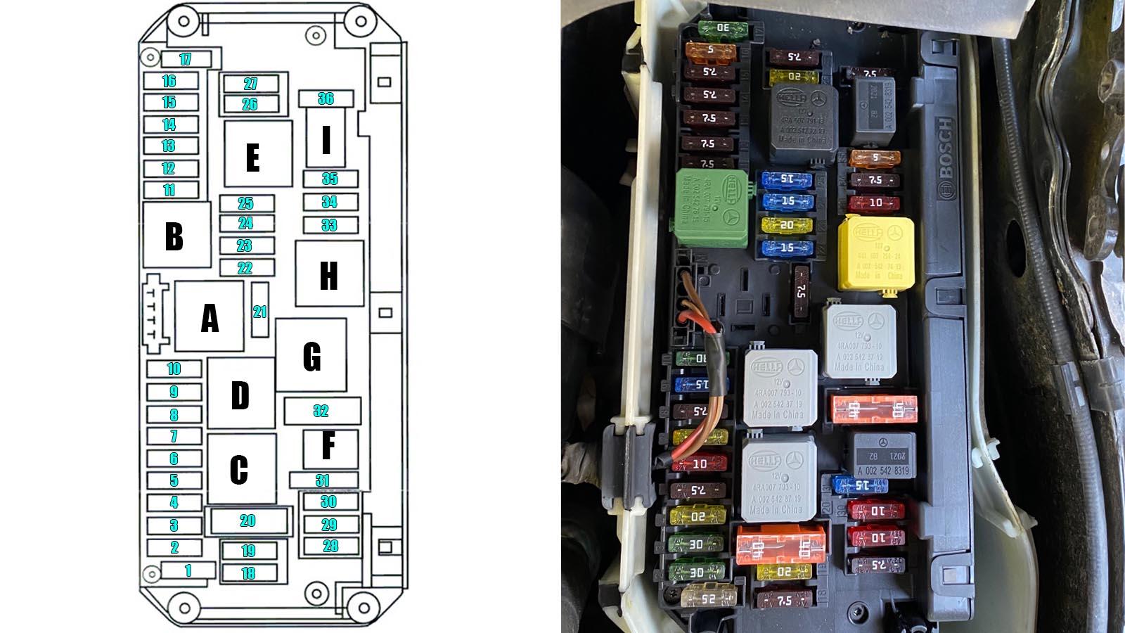 40 Mercedes C40 Fuse Box Diagram   relate decorati Wiring ...